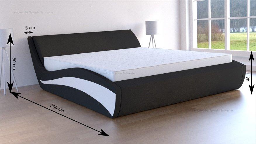 łóżka do sypialni z pojemnikiem