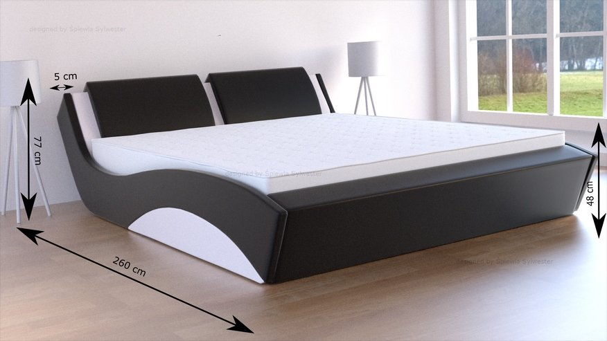 łóżka z pojemnikiem na pościel